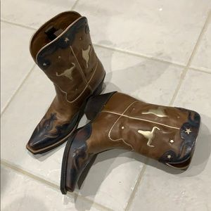 COOLEST Ariat Cowboy Boots EVER - Brand NEW